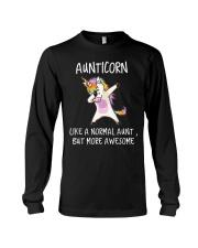 Aunt Unicorn Long Sleeve Tee thumbnail