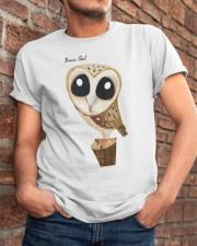 Barn Owl Classic T-Shirt apparel-classic-tshirt-lifestyle-26