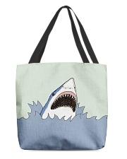 Shark Vector art All-over Tote thumbnail
