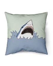 """Shark Vector art Indoor Pillow - 16"""" x 16"""" front"""