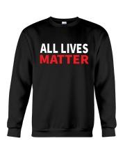 All Lives Matter Crewneck Sweatshirt thumbnail