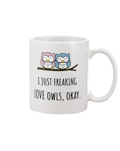 i just freaking love owls okay