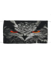 Owl face Cloth face mask front