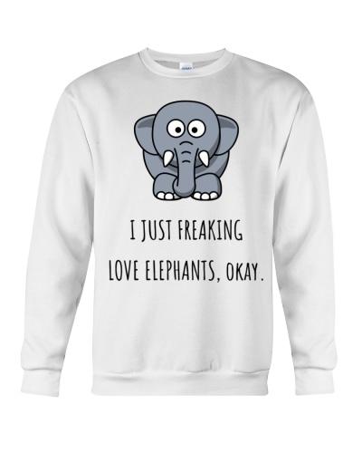 I just Freaking love elephants okay