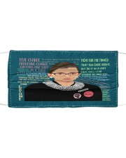 T-rbg-3107-Q179 Cloth face mask thumbnail