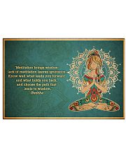 T-yoga-2406-th17 36x24 Poster front