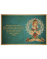 T-yoga-2406-th17 24x16 Poster front