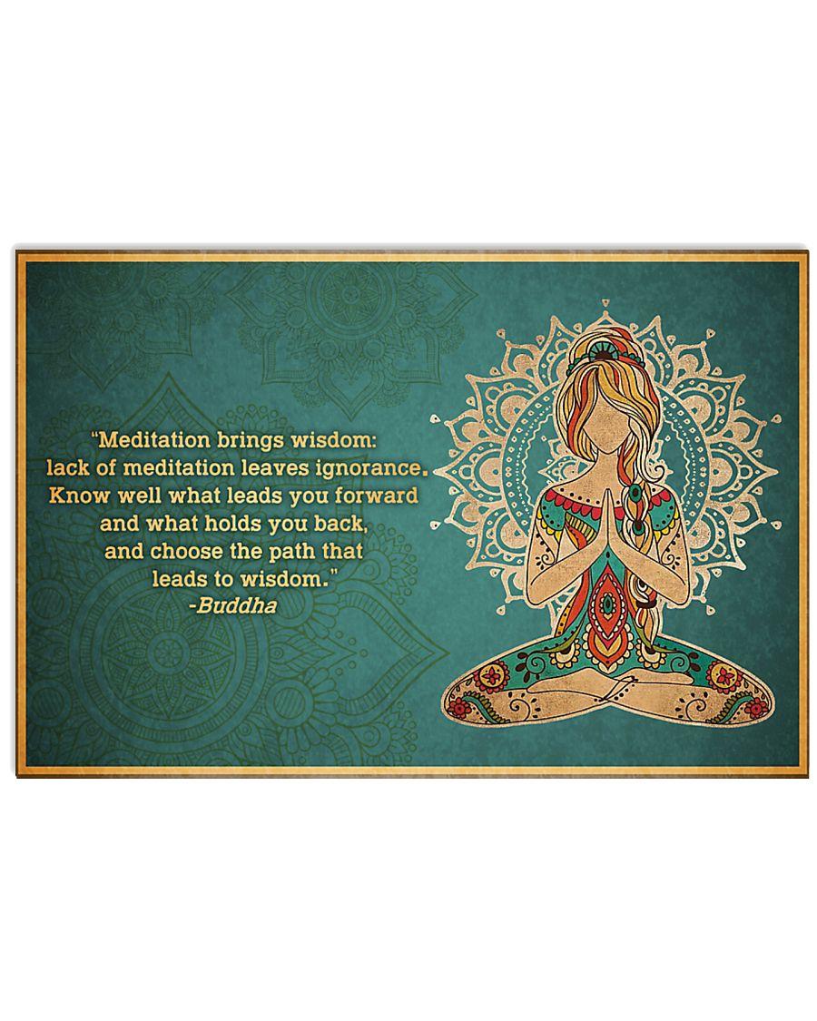 T-yoga-2406-th17 17x11 Poster