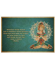 T-yoga-2406-th17 17x11 Poster front