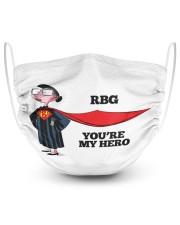 H-RBG-1909-ng45-2 2 Layer Face Mask - Single front