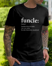 Funcle Uncle - Funny Shirts Classic T-Shirt lifestyle-mens-crewneck-front-7