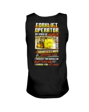Forklift Operator Shirt Unisex Tank thumbnail