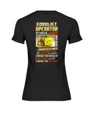 Forklift Operator Shirt Premium Fit Ladies Tee thumbnail
