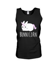 Bunnicorn Shirts -Funny Cute Shirts Unisex Tank thumbnail