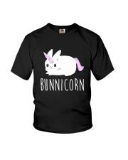 Bunnicorn Shirts -Funny Cute Shirts Youth T-Shirt front