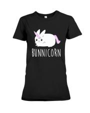 Bunnicorn Shirts -Funny Cute Shirts Premium Fit Ladies Tee thumbnail