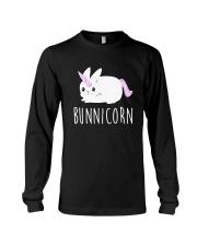 Bunnicorn Shirts -Funny Cute Shirts Long Sleeve Tee thumbnail