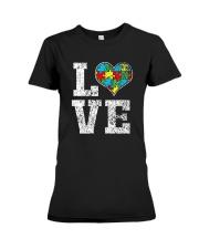 Autism Awareness Shirts Premium Fit Ladies Tee thumbnail