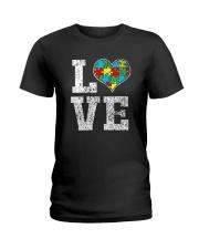 Autism Awareness Shirts Ladies T-Shirt thumbnail