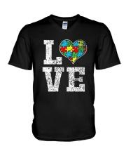 Autism Awareness Shirts V-Neck T-Shirt thumbnail