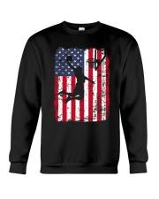 USA AMERICAN FLAG BASKETBALL SHIRTS Crewneck Sweatshirt thumbnail