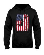 USA AMERICAN FLAG BASKETBALL SHIRTS Hooded Sweatshirt thumbnail