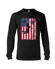 USA AMERICAN FLAG BASKETBALL SHIRTS Long Sleeve Tee thumbnail