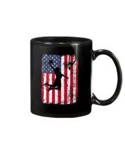 USA AMERICAN FLAG BASKETBALL SHIRTS Mug thumbnail