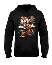 Reindeer Dachshund Dog Shirt Hooded Sweatshirt thumbnail
