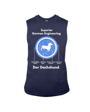 Dachshund Lovers Shirt - Der Dachshund Sleeveless Tee thumbnail