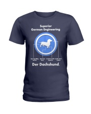 Dachshund Lovers Shirt - Der Dachshund Ladies T-Shirt thumbnail