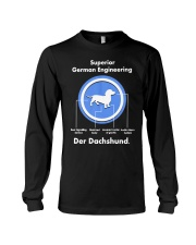 Dachshund Lovers Shirt - Der Dachshund Long Sleeve Tee thumbnail