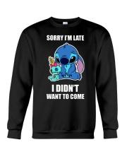 Sorry I'm late stich Crewneck Sweatshirt thumbnail
