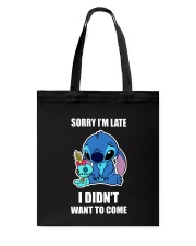 Sorry I'm late stich Tote Bag thumbnail