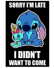 Sorry I'm late stich 11x17 Poster thumbnail