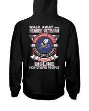 WALK AWAY - SEABEE VETERAN Hooded Sweatshirt thumbnail