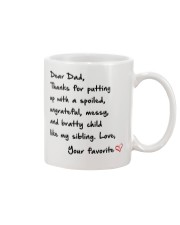 DEAR DAD Mug tile