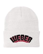 WEBER Knit Beanie front