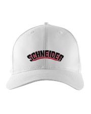 SCHNEIDER HAT Embroidered Hat front