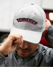 SCHNEIDER HAT Embroidered Hat garment-embroidery-hat-lifestyle-01