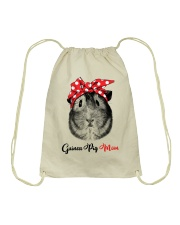 Guinea Pig Mom Drawstring Bag thumbnail