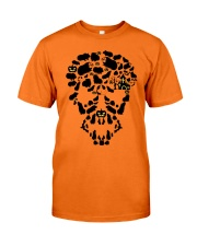 GUINEA PIG SKULL Classic T-Shirt front