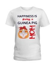 Guinea Pig Mom Ladies T-Shirt thumbnail