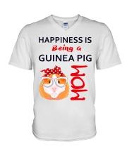 Guinea Pig Mom V-Neck T-Shirt thumbnail