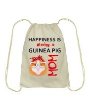 Guinea Pig Mom Drawstring Bag thumbnail