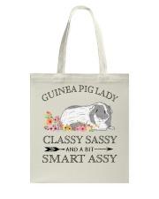 Guinea Pig Lady Tote Bag thumbnail