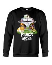 GUINEA PIGS PEACE AND LOVE  Crewneck Sweatshirt thumbnail