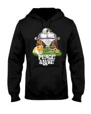 GUINEA PIGS PEACE AND LOVE  Hooded Sweatshirt thumbnail