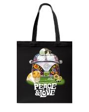 GUINEA PIGS PEACE AND LOVE  Tote Bag thumbnail