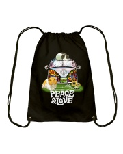 GUINEA PIGS PEACE AND LOVE  Drawstring Bag thumbnail